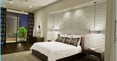 Úgy tervezték, egy modern stílusú hálószoba